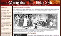 Moonshine, Blue Ridge Style