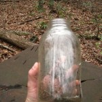 Mason jar found at still #1