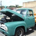 One of the many restored vehicles at Carolina ShineFest